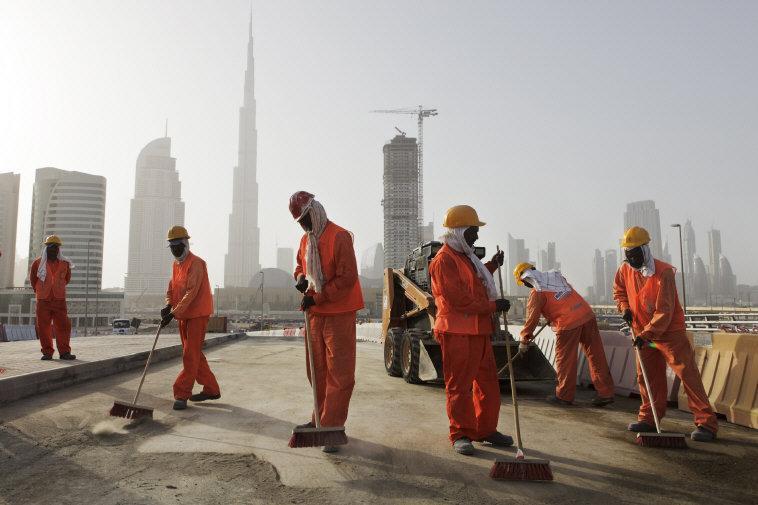 Dubai migrant workers