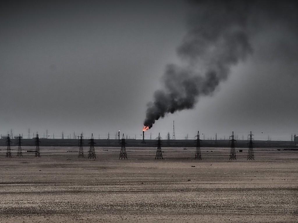Geography kuwait oil fields