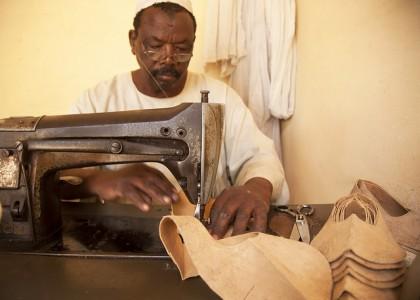 leather tanning Sudan Economy