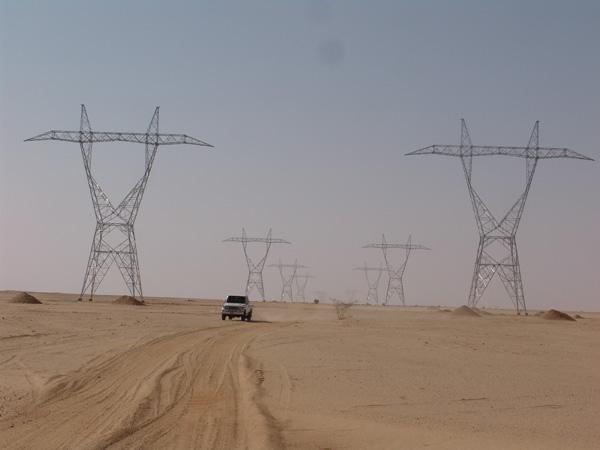 Electricity transmission Merowe Dam Economy