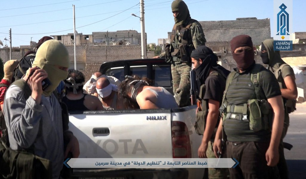 Extremesim- detained Islamic State fighters in Syria