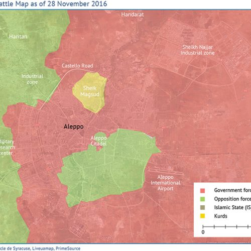 Aleppo, the Worst-Hit City in the Syrian Civil War