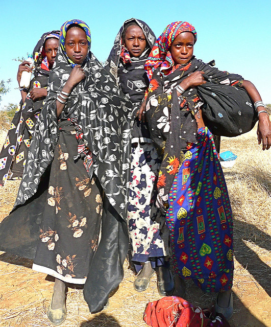 sudan population Fulani in Nuba