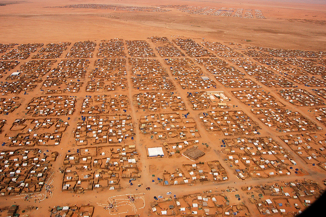 Sudan population Abu Shouk camp
