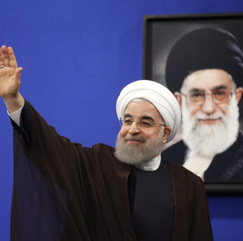 In Iran, Supporters Fear Re-elected Moderate President is Under Pressure from Hardliners