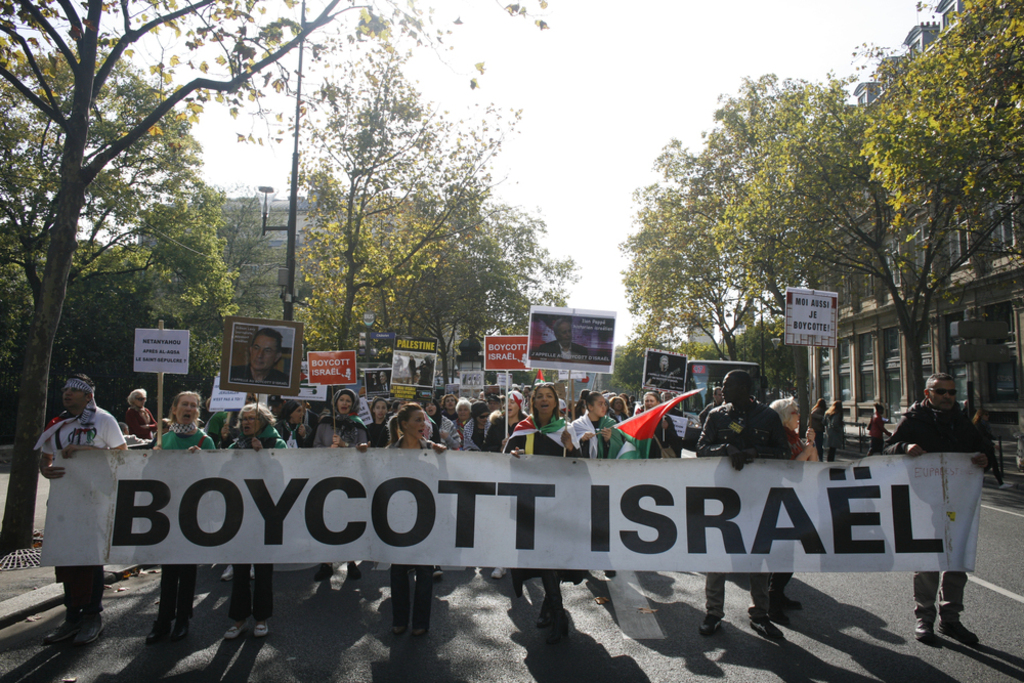 Israel-past to present-BDS Movement