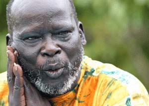 John Garang Sudan civil wars