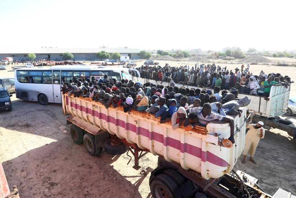 Libya- African migrants in Libya