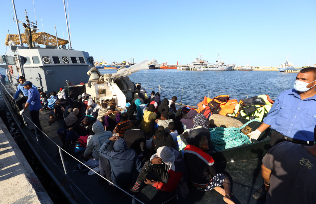 Libya- migrants in Libya