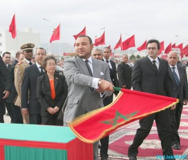 Morocco-faces-King Mohammed VI