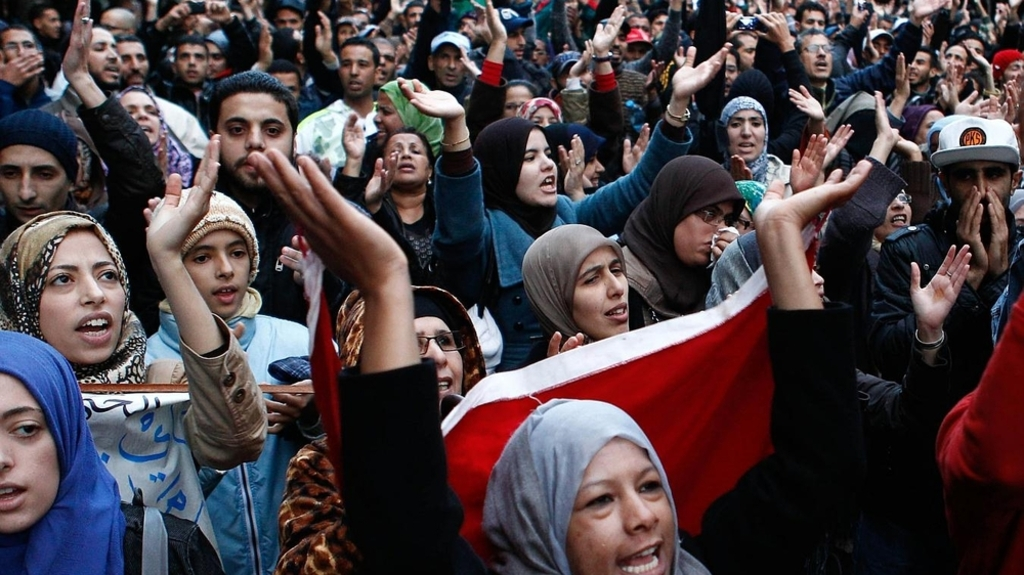 demonstrations-in-morocco