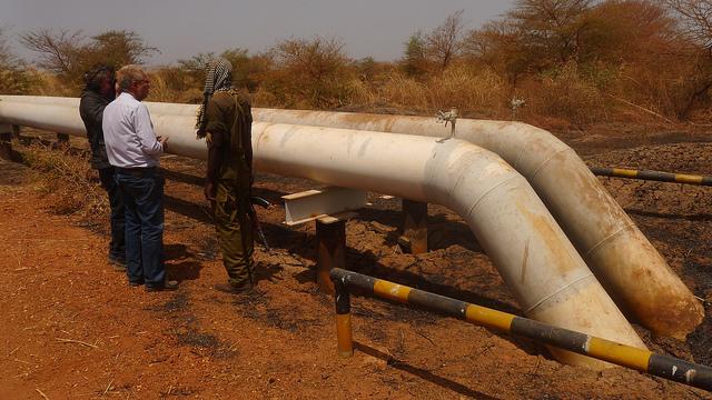 oil transport Sudan Economy