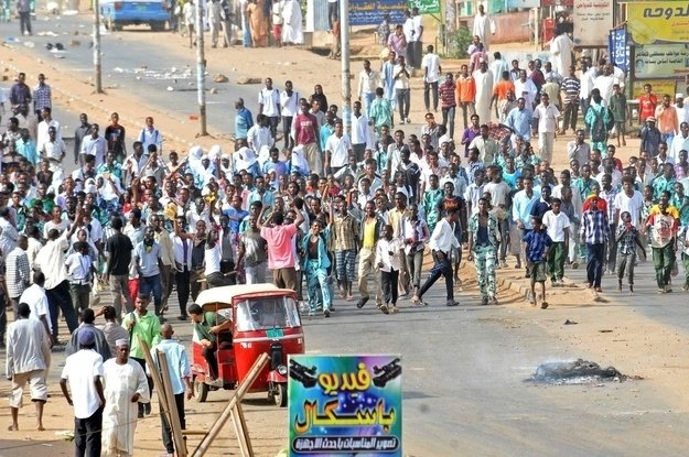protests Sudan Economy