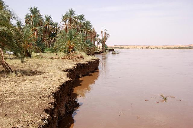 Sudan geography erosion