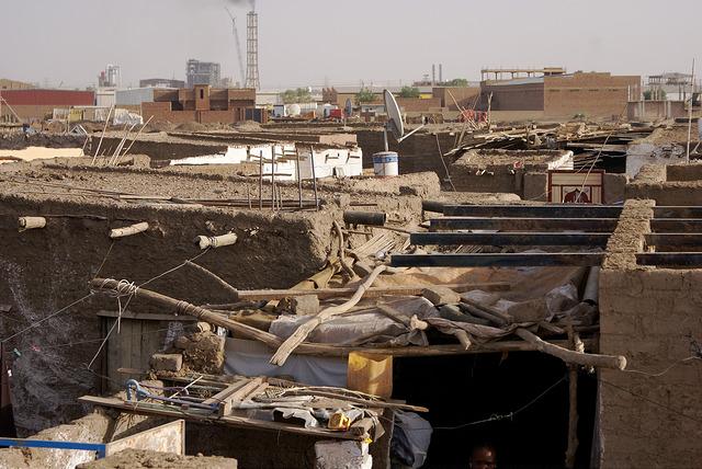 Sudan population Khartoum slums