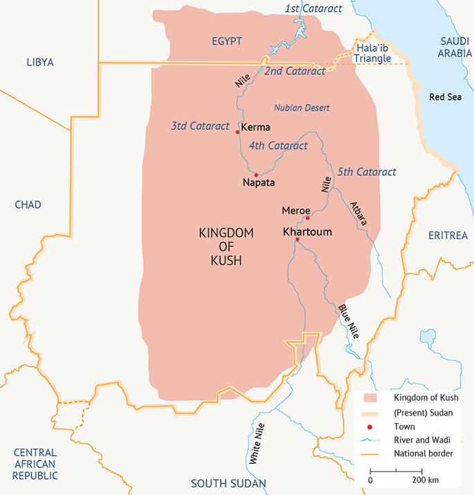 Sudan Kingdom of Kush Antiquity 700px