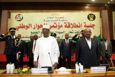 Sudan Bashir national dialogue conference Sudan governance