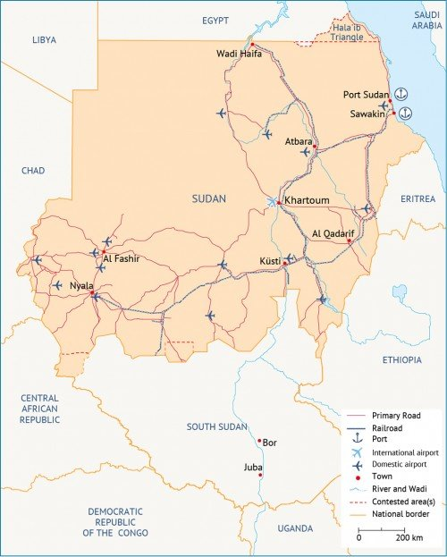 Sudan_Map_InfraStructure_Fanack_1024px-500x623