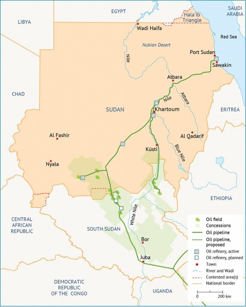 oil Sudan Economy