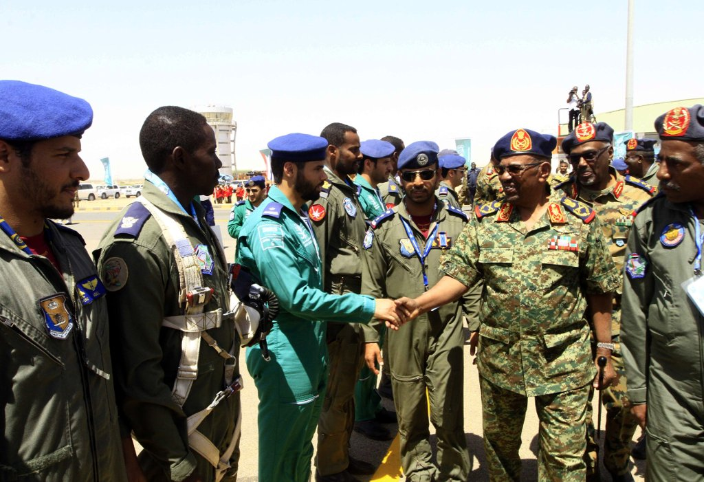 sudan isolation Bashir al-Omar Marwa air base