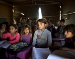 وضع الأطفال السوريين اللاجئين