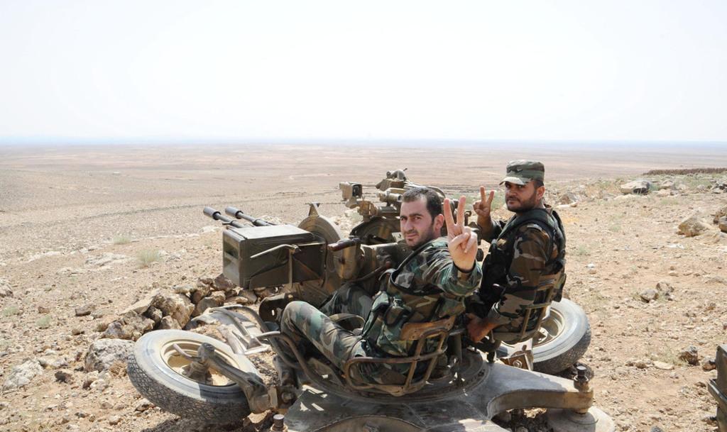 Syria- syrian army soldiers