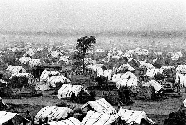 Sudan population Zalingei camp