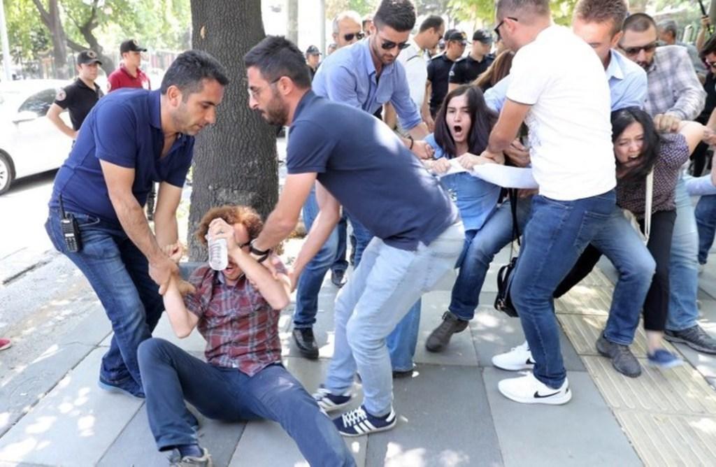 Turkey-human rights-turkish protestors