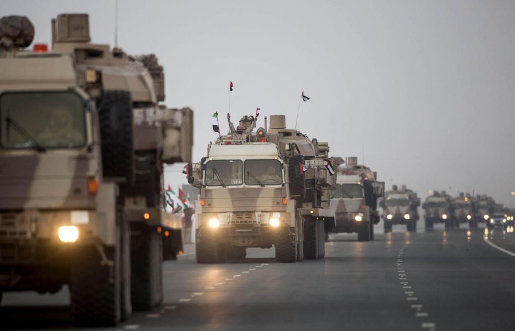 UAE- UAE military troops