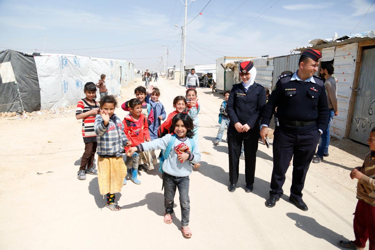 Syrian refugees Zaatari Jordan