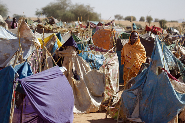 Zam Zam Internally Displaced Persons (IDP) Camp Sudan civil wars