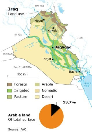 agricultural-potential_iraq_water-arable3_318px