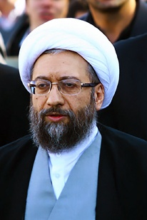 Sadeq Larijani, Iran's Chief of Justice in the service of the Supreme Leader