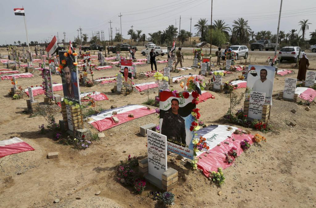 Iraq-population- mass grave for sunnis in Iraq
