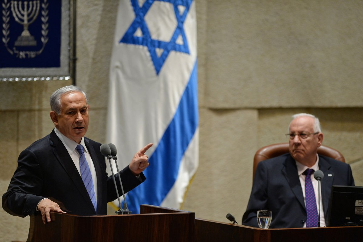 israel governance nethanyahu speaking at the winter opening session of the knesset