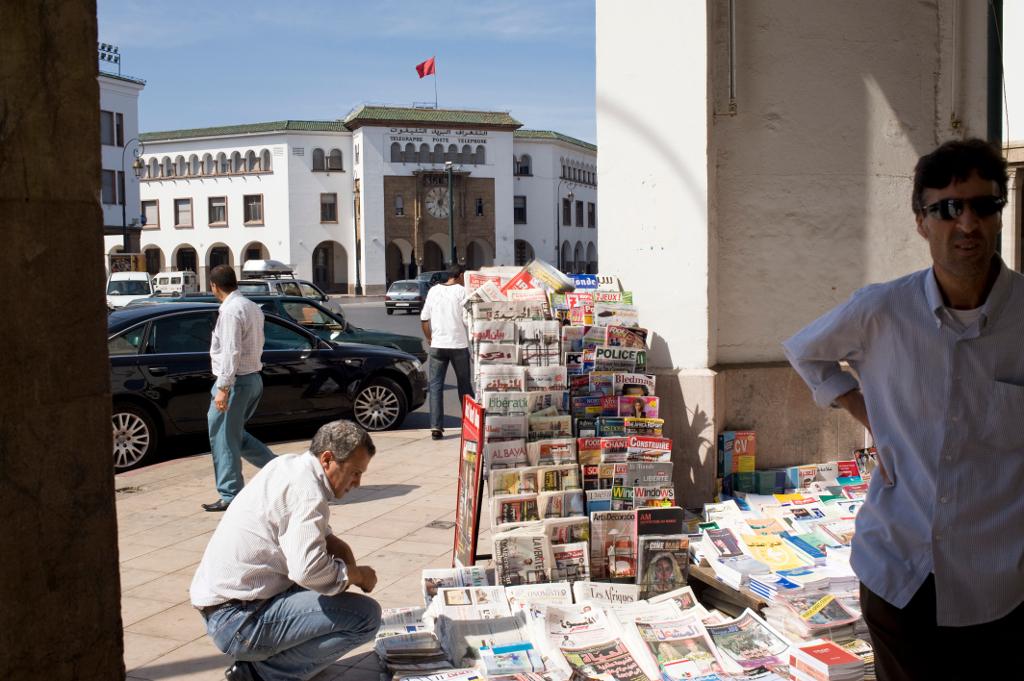 morocco media press in rabat