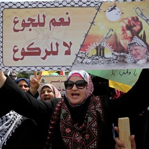 Salt Water Challenge Hailed as Victory for Palestinian Prisoners on Hunger Strike