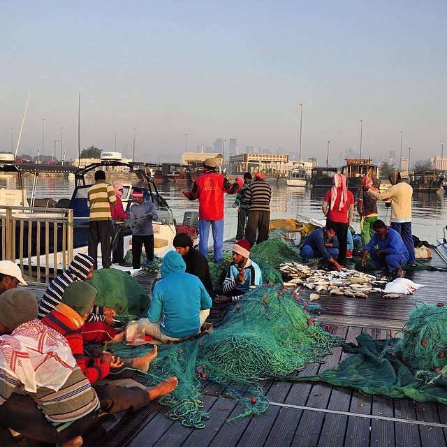 qatar-economy-fishermen-in-doha-fanack-flickr