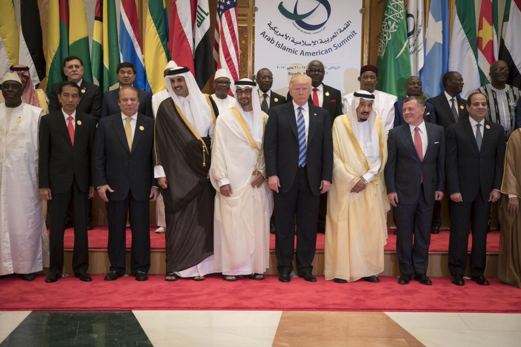 Qatar- Arabic Islamic American Summit in Riyadh