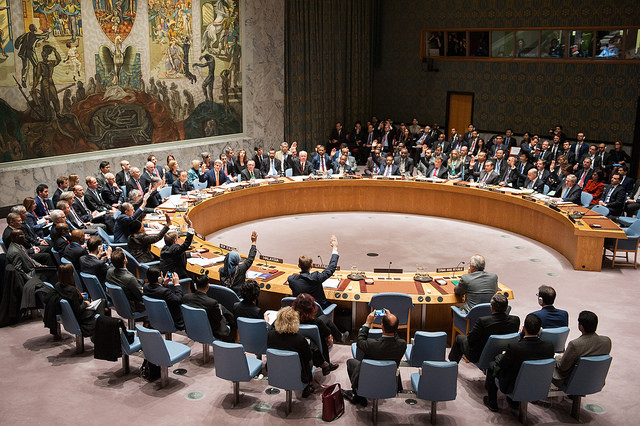 UN Security council casts a vote on the war in syria