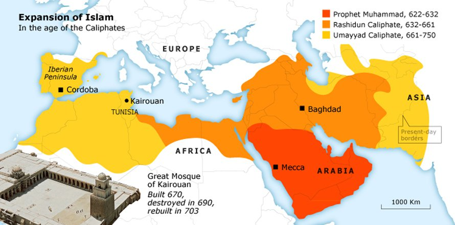 the-coming-of-islam_tunisia_history_map_01