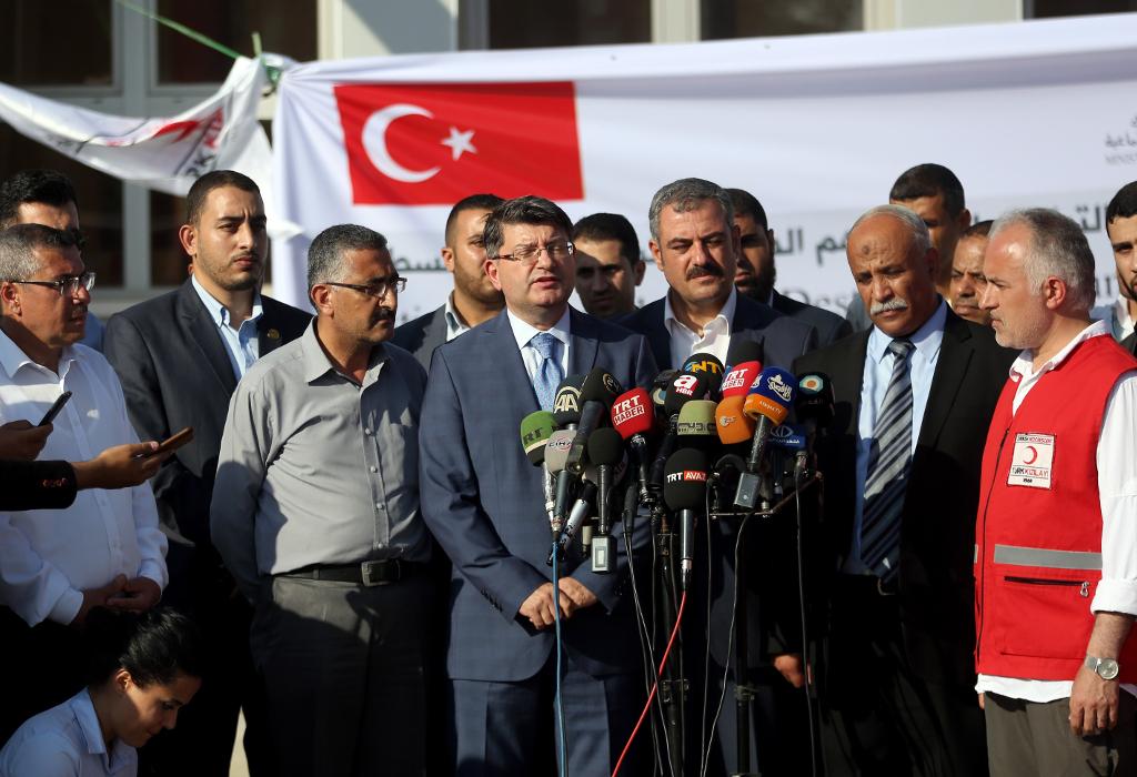 Palestine–Turkey relations