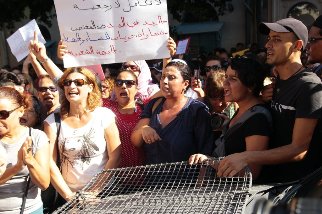 Tunisians-protest-against-domestic-violence