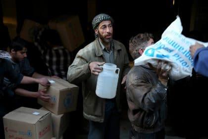 الأمم المتحدة متهمة بالانحياز للنظام في جهود الإغاثة في سوريا