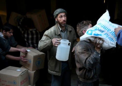 UN Accused of Pro-regime Bias in Relief Effort in Syria