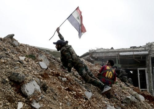 Syrian Army Forces Out Rebels in Aleppo
