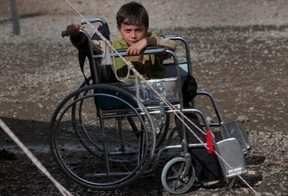 Syrian War Disabled without Adequate Care