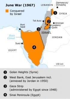 the june war of 1967 June war map 001 03