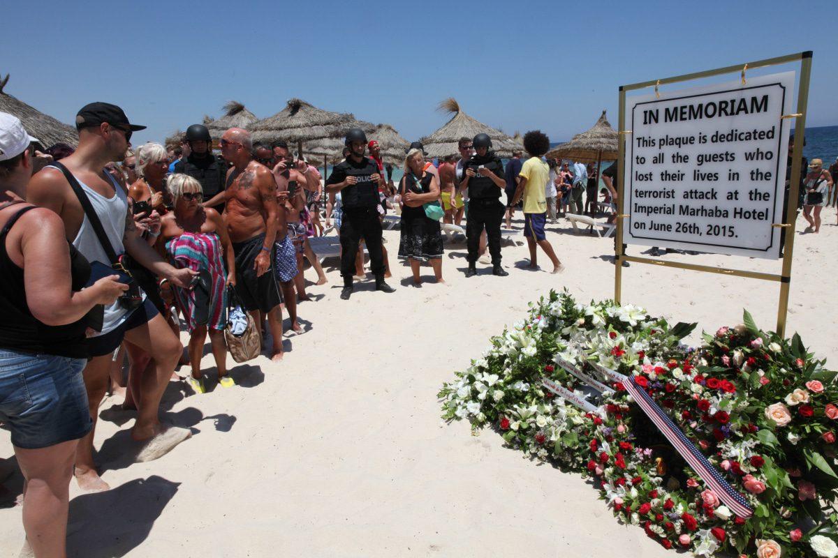 Tunisia terrorist attack in Sousse
