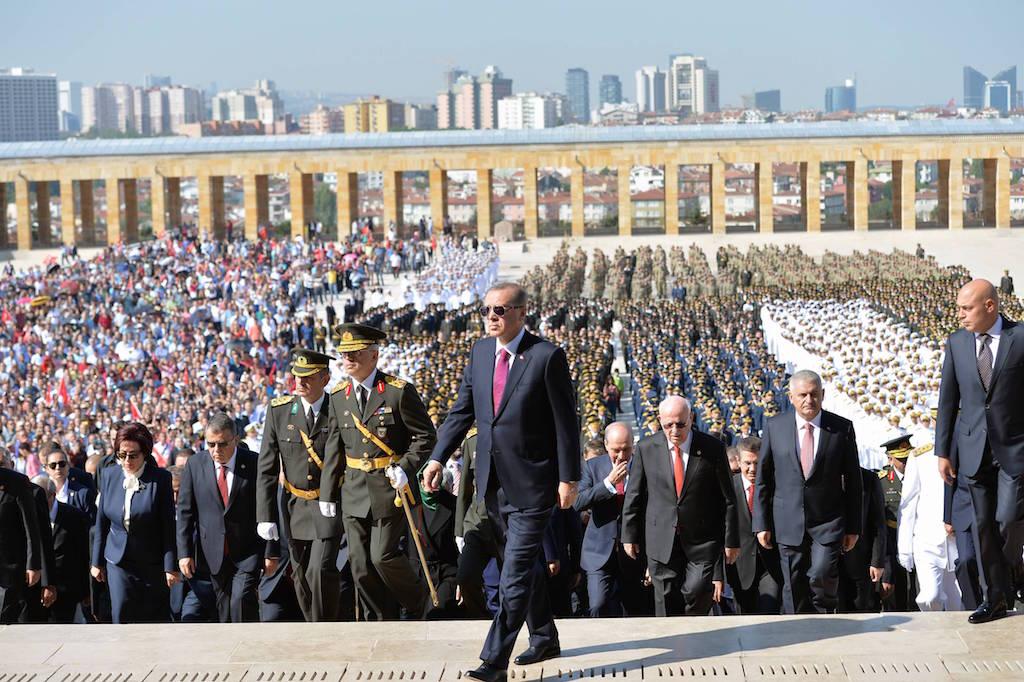 العرض العسكري أردوغان الجيش التركي